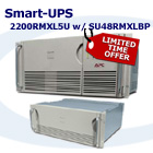 APC SMart-UPS 2200 Rack Mount XL 5U with SU48RMXLBP UPS Bundle P