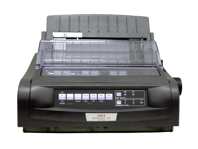 Okidata ML 420 Printer - Black